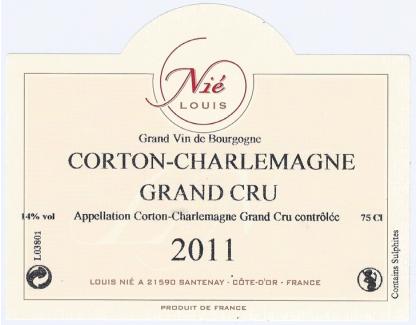 Corton Charlemagne 2011