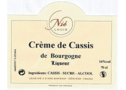 Crème de Cassis 16°