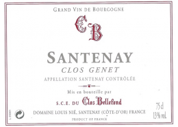 Santenay Clos Genêt 2003