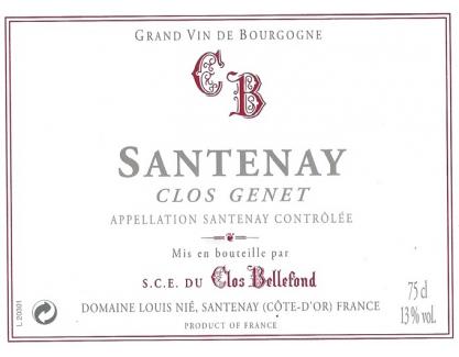 Santenay Clos Genêt 2009