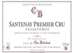 Santenay Passetemps 1er Cru 2010