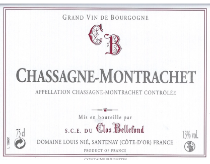 Chassagne Montrachet 2007