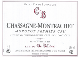 Chassagne Montrachet Morgeot 2010